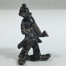 Pewter Clown Sax Figurine Saxophone Player Musician Horn 2 1/2""
