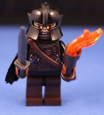 LEGO® LORD OF THE RINGS™ The Hobbit™ Custom ORC CAPTAIN +Torch, Sword & Scabbard