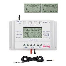 Effective Solar MPPT T20A 12V battery Charge Controller + Extension cable US MT