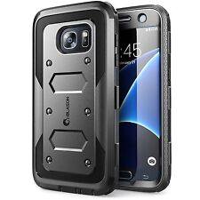 Samsung Galaxy S7 Case Dual Layer Cover Built In Screen Protector Super Tough