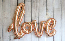 Love Balloon Wedding Decorations, Mylar Bridal Shower, Wall Decor Banner Gold