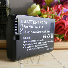 New EN-EL14A Camera Battery For Nikon D3100 D3200 D3300 D5200 D5300 P7700 P7800