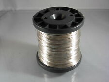 100Meter Silberdraht 1 mm Basteldraht Kupferkern Silver Plated Copper Wire 1,0mm