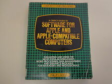 A Critic's Guide for Software for Apple and Apple Compatible Computers 1983