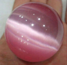 Hot 40mm Pink Mexican Opal Sphere, Crystal Ball Gemstone +Stand