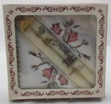Villeroy & and Boch BOTANICA paper serviettes and candles BOXED VERY RARE