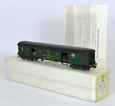 METROPOLITAN HO SWISS SBB SUPERBLY DETAILED BAGGAGE COACH CAR VERY Nr MINT BOXED