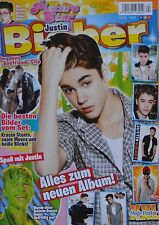 JUSTIN BIEBER - Picture Star Magazin 04/2012 + XXL Poster - Clippings Sammlung