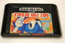 Sonic The Hedgehog 1 Sega Genesis Game Cart Only -Tested