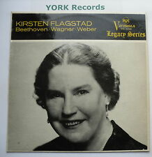 VIC 1208 - KIRSTEN FLAGSTAD - Beethoven / Wagner / Weber - Ex Con LP Record