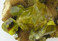 SULFUR SULPHUR CRYSTALS SOUFRE-SCHWEFEL- BITUMINOUS- From SICILY CM 13X11X8,5