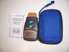 Digital Laser Photo Tachometer (Non-Contact) DT-2234C New Series