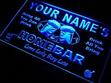 Personalized  Name Custom Home Bar Neon Sign Man Cave Night Light Best Gift