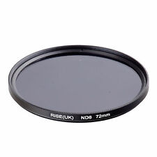 72mm Neutral Density ND8 Filter for Canon Nikon Sony Fuji Samsung Lens
