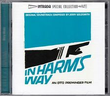 Jerry Goldsmith - In Harm's Way - Intrada / RARE CD!