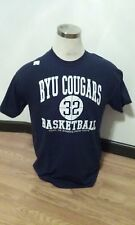 Jimmer Fredette #32 BYU Cougars Basketball Navy T-shirt XX-Large 2XL New NWOT