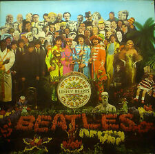LP THE BEATLES - sgt. peppers lonely hearts club band, FOC, GER, SHZE 401, nm
