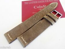 18mm ColaReb VENEZIA swamp color Italian Vintage genuine leather watchband strap