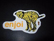 """ENJOI Skate Dog Poop #2 Sticker 3.5X2"""" great for skateboards helmets decal"""