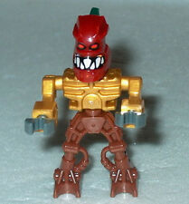 BIONICLE Lego Mini Piraka with HAKANN Head  NEW as shown dk red