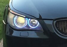 E60 E61 EYELIDS EYEBROWS HEADLIGHT LIGHT BROWS LIDS TRIM M5 RARE ABS MEAN LOOK