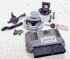 05-07 BMW R 1200 GS OEM IGNITION LOCK KEY SET W/ GAS CAP AND SEAT LOCK & ECU ECM