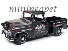 AUTOWORLD AWSS115 THE THREE STOOGES 1955 CHEVROLET CAMEO STEPSIDE TRUCK 1/18
