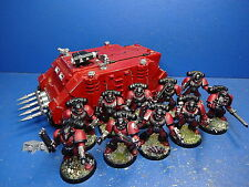 Rhino + 10 marines con la nahkampfwaffen Blood Angels 2