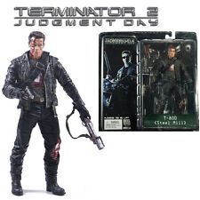 Terminator 2 Judgment Day T-800 Steel Mill PVC Model Action Figures Boy Toy