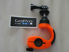 GO PRO SEATPOST HANDLE BAR BIKE CYCLE 360° CLAMP + BE A HERO STICKER