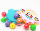 Baby Plastic Rattle Toy Handbell Musical Education Percussion Instrument