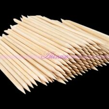 100Pcs/Pack Nail Art Wood Sticker Cuticle Pusher Remover Point Pen Manicure DIY