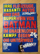 Filmposter * Kinoplakat * A1 * Batman hält die Welt in Atem * WA 1975 * B