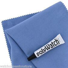 Polywatch & Cloth KIT VINTAGE WATCH PLASTICA / VETRO ACRILICO Scratch Remover - 5ml
