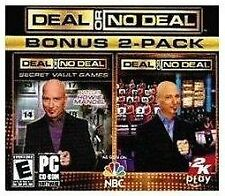 Deal or No Deal Bonus 2 Pack PC Game (PC, 2009)