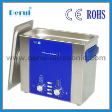 Derui Industrial ultrasonic cleaner DR-DS60 6L with degas sweep 160W