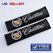 CADILLAC SHOULDER PADS SEAT BELT CARBON FIBER 2PCS