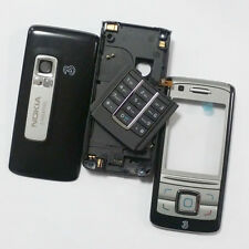 Genuine Housing Shell Fascia, Chassis & Keypad For Nokia 6280  Black/Silver