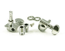 NEW Grover LOCKING TUNERS 6 In Line Mini Rotomatic Top Locking 18:1 Chrome 406C6