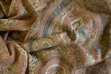 Large Kani Jamawar Wool Shawl A Splendidly Detailed Jamavar Cappuccino Pashmina
