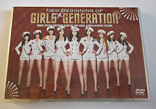 Girls Generation SNSD New Beginning Japan Press DVD Limited K-Pop