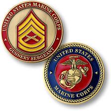 U.S. Marine Corps / Gunnery Sergeant - USMC Challenge Coin