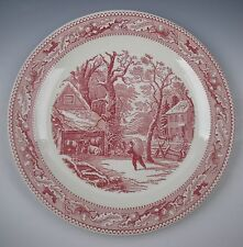 """Royal China (USA) MEMORY LANE 12"""" Chop Plate/Round Platter EXCELLENT"""