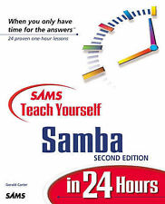 Gerald Carter Sams Teach Yourself Samba in 24 Hours (Sams Teach Yourself in 21 D