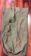 Tweedies 1944 Green Duffle Bag Distressed US Military WWII