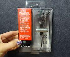 SONY ECM-CS3 Condenser Microphone Business Tie-clip ECM CS3