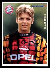 Tomas Tomic Autogrammkarte Bayern München II 1996-97 Original Signiert