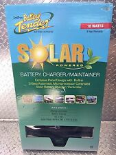 Solar Powered Battery Tender Charger Maintainer 12V Motorcycle ATV Car Boat 15W