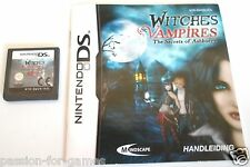 WITCHES AND VAMPIRES - THE SECRETS OF ASHBURRY voor Nintendo DS