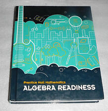 Prentice Hall Mathematics Algebra Readiness Student Textbook 2010 HC Homeschool